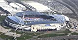 IPhone 5/5s black plastic clip on case with the back cover photo of Reebok Stadium, home of Bolton Wanderers FC