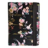 Accessorize Fashion Universal Folio Case Cover with Built-In Stand Compatible with 7 Inch Tablet Including iPad Mini 1/2/3, Google Nexus 7, Samsung Galaxy Tab 2/3/4 (7.0 Inch), Kindle Fire HD/HDX (7 Inch) and Sony Xperia Z3 Tablet Compact - Birds