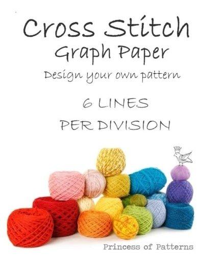 Cross Stitch Graph Workbook 6 Lines Per Division [Wisteria, Thor] (Tapa Blanda)