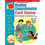10 Reading Comprehension Card Games: Easy-To-Play, Reproducible Card and Board Games That Boost Kids' Reading Skills-And Help Them Succeed on Testsby Elaine Richard