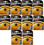 10 x Duracell CR2032 3V Lithium Coin Cell Battery 2032 DL2032 KEY FOB REMOTES