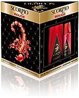 Scorpio Coffret 2 Produits Rouge Eau de Toilette Flacon de 75 ml + Déodorant Atomiseur 150 ml