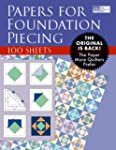 Papers for Foundation Piecing: Quilte...