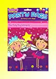 Pack Of 8 Girls Fairy Princess Party Bags Loot Bags