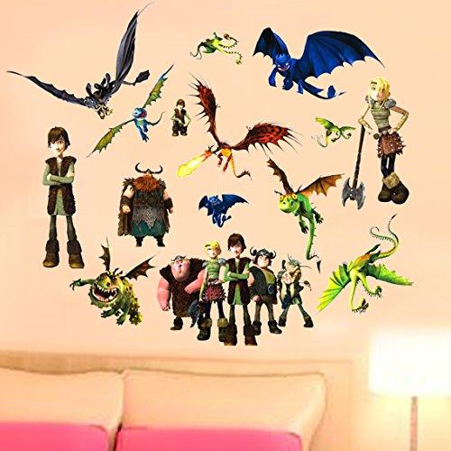 Movie Cartoon Wall Sticker Decals for Children Bedroom
