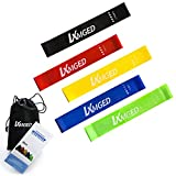 LXMGED Yoga Fitness Resistance Band Elastic Belt Rehabilitation Rraining with Natural Latex Tension Belt