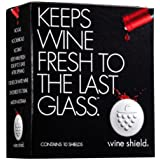 Wine Shield, Ultimate Preserver Keeps Wine Fresh to the Last Glass, Pack of 10