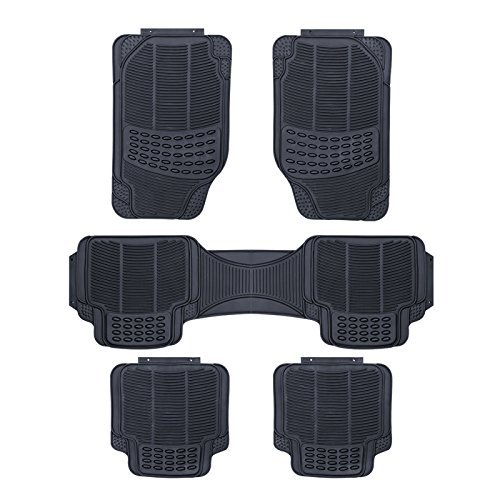 rhino automotive universal 5 st ck mpv heavy duty gummi fu matten rw08 rhino automotivie. Black Bedroom Furniture Sets. Home Design Ideas