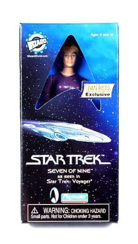 Buy Low Price Wizard Entertainment ToyFare Exclusive Star Trek: Voyager Seven of Nine Action Figure (B000REHIM2)
