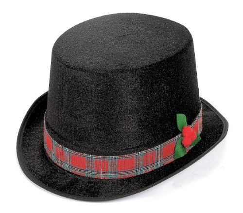 Christmas Caroler Top Hat