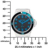 EOS New York Unisex 358SBLUCLR Neo Plastik Blue Watch