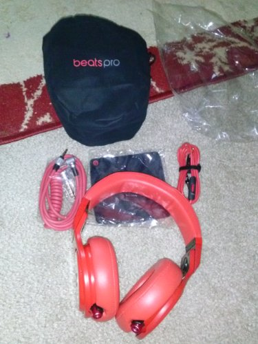 Beats By Dr Dre Pro Lil Wayne Over-Ear Headphone - Red