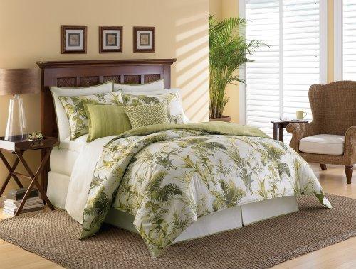 Tommy Bahama Island Botanical Comforter Set, King front-1044676