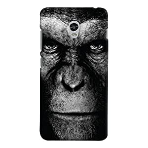 ColourCrust Lenovo Vibe P1 Mobile Phone Back Cover With Gorilla - Durable Matte Finish Hard Plastic Slim Case