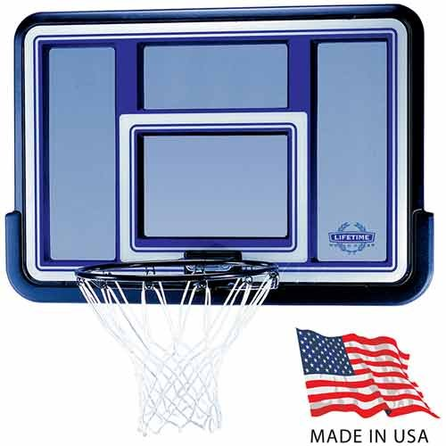 Lifetime 44-Inch Backboard/Rim Combo