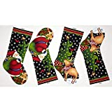 25 Days Til Christmas 24 In. Stocking Panel Multi Fabric By The Yard