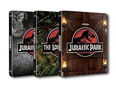【Amazon.co.jp限定】ジュラシック・パーク トリロジー Blu-ray SET スチールブック仕様
