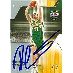 Vladimir Radmanovic Autographed Hand Signed Basketball Card (Seattle Sonics) 2003...