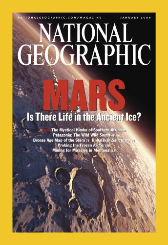 "Cover of the January, 2004 Issue of National Geographic Magazine. - 24""H x 17""W - Peel and Stick Wall Decal by Wallmonkeys - 1"