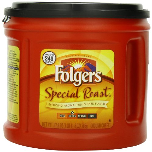 Folgers Special Roast Coffee, 27.8-Ounce Cans (Pack of 2)