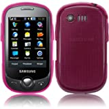 FLASH SUPERSTORE SAMSUNG C3510 GENOA GEL SKIN COVER/CASE HOT PINK