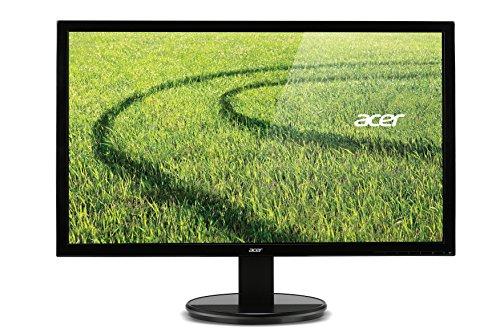 Acer-LED-Monitor-VGA-DVI-5ms-Reaktionszeit-Glossy-black