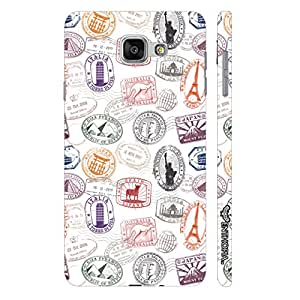 Enthopia Designer Hardshell Case Monument Stamp 2 Back Cover for Samsung Galaxy A5(2016)