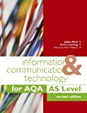 img - for Information & Communication Technology for Aqa As book / textbook / text book