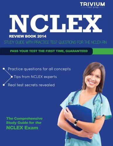 NCLEX Review Book 2014: Study Guide with Practice Test Questions for the NCLEX RN