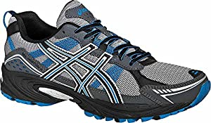 ASICS Men's GEL-Venture 4 Running Shoe,Charcoal/Carbon/Blue,9.5 M US