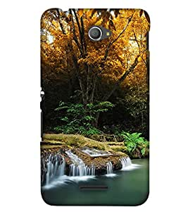 PrintHaat Polka Dot Pink Mickey Mouse Back Case Cover for Sony Xperia E4 Dual::Sony Xperia E4 (natural beauty :: beautiful wallpaper :: serene beauty :: wonderful nature :: mesmerizing nature :: misty mountains :: lush green scenery :: under water life :: beautiful island :: incredible)