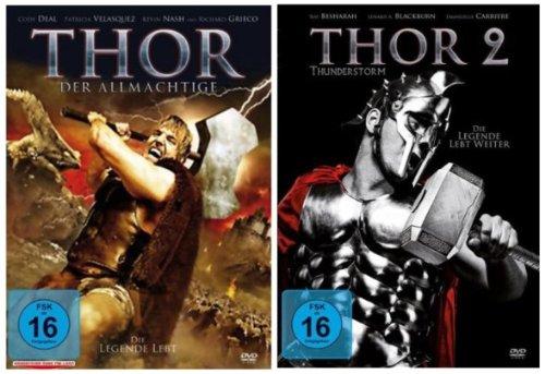 THOR 1 & THOR 2 - DVD Edition