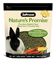 ZUPREEM 230024 Nature\'S Promise Rabbit Pellets Food for Pets, 10-Pound