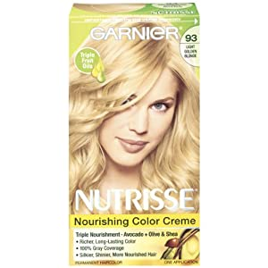 garnier nutrisse nourishing color crème 93 light golden