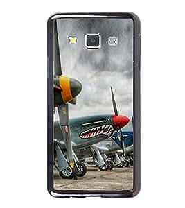 Cartoon Planes 2D Hard Polycarbonate Designer Back Case Cover for Samsung Galaxy A7