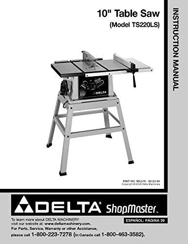 Delta Shopmaster TS220LS 10