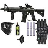 Tippmann US Army Alpha Black Elite M-FDP Paintball Gun Player Package
