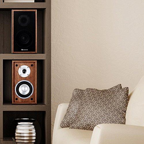 preisvergleich auna linie 300 sf wn design regallautsprecher willbilliger. Black Bedroom Furniture Sets. Home Design Ideas