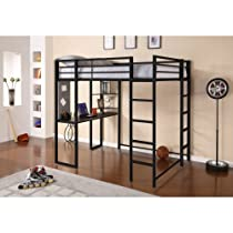 Big Sale Dorel Home Products Abode Full Size Loft Bed, Black