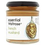 French Mustard essential Waitrose 180g