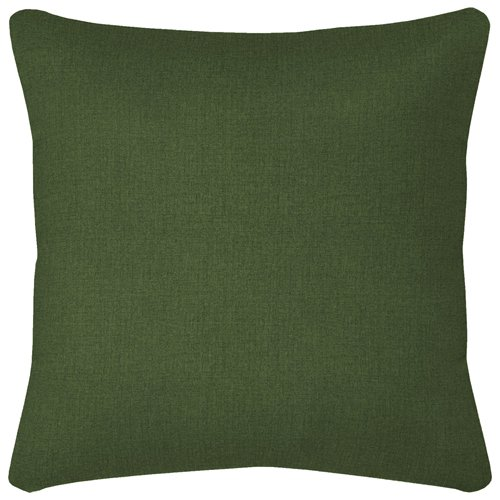 Arden Husk Texture Hunter Green Toss Pillow