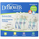 Dr. Brown's Natural Flow Newborn Feeding Set, Wide Neck