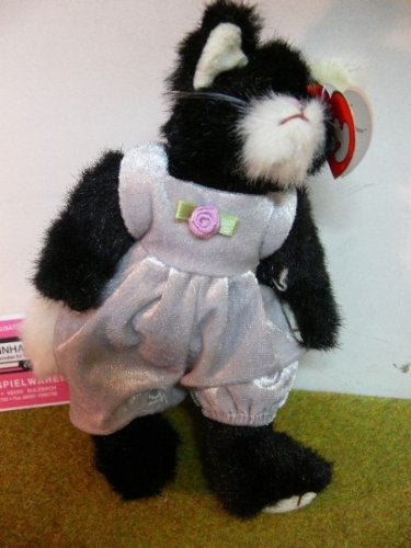 Ty Attic Treasure Collection: Grey & White Purrcy the Cat