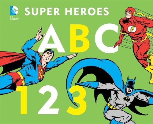 ABC 123 (DC Super Heroes (Board))