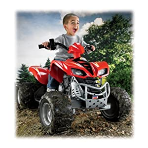 Fisher-Price Power Wheels Kawasaki KFX Ninja Ultimate Terrain Traction