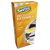 Swiffer 360 Dusters Extender Kit,  3 Unscented Dusters With Extendable handle (Pack of 3) (Packaging May Vary) ~ Swiffer