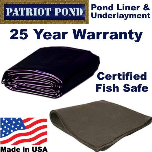 Awardpedia 15 X 30 45 Mil Edpm Patriot Pond Liner