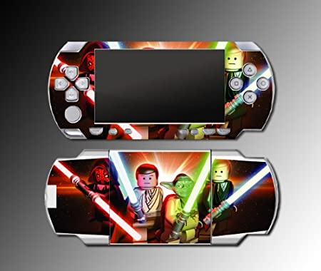 Star Wars Yoda Darth Vader game Decal Cover SKIN 5 for Sony PSP 1000 Playstation Portable