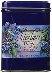 Taste The Wilderness Wild Elderberry Tea Tin (20 Tea Bags)