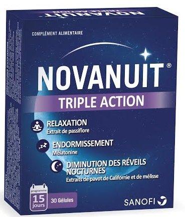 SANOFI-AVENTIS Novanuit Sonno 15 giorni - 30 capsule